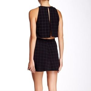 American Apparel Tops - American Apparel Lulu Grid Crop Top